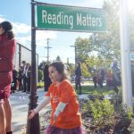 Reading Matters Library opening at Shepard Branch! She got tohellip